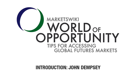 World of Opportunity [INTRODUCTION]