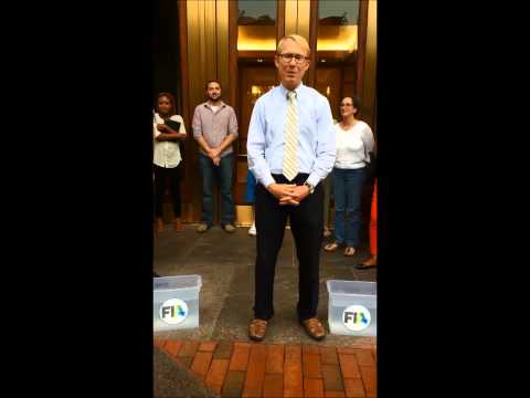 Video thumbnail for youtube video FIA's Walt Lukken Takes the ALS Ice Bucket Challenge; Responds to JLN - John Lothian News (JLN)