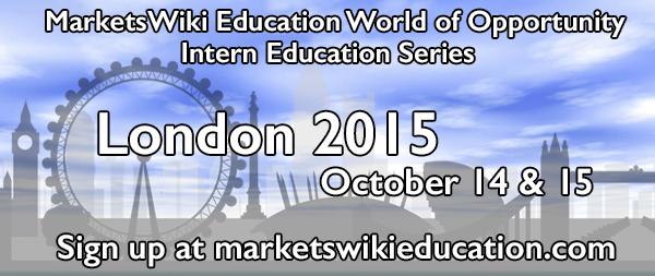 MarketsWiki Education London 2015