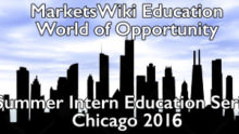MarketsWiki Education, Chicago 2016